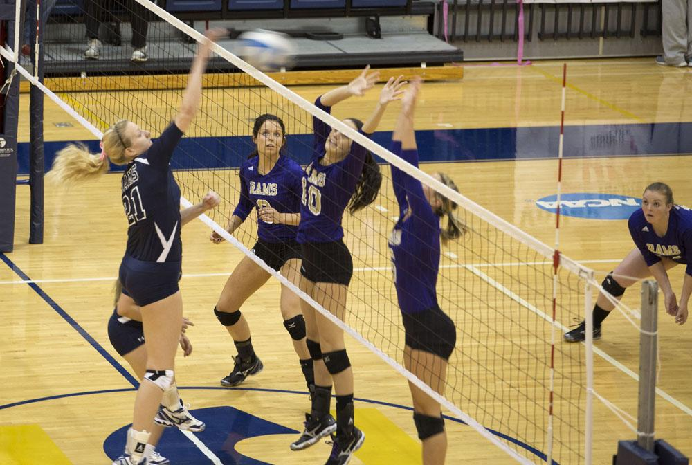 Volleyball Records Two Wins