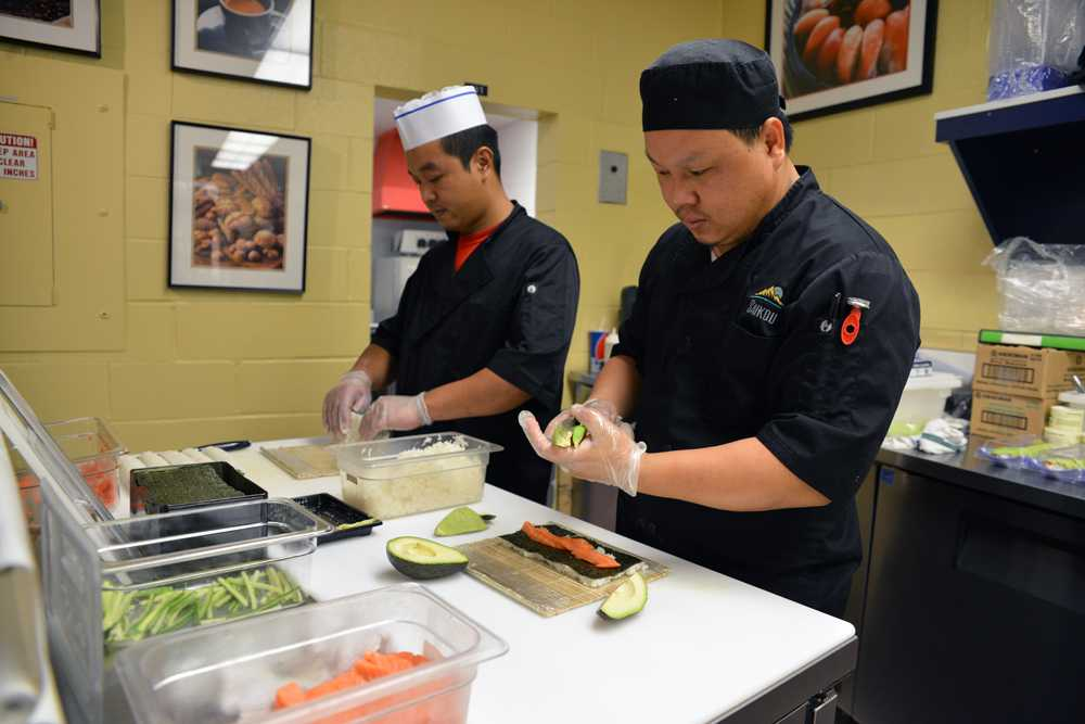 Sushi Now Served at The Rams Den