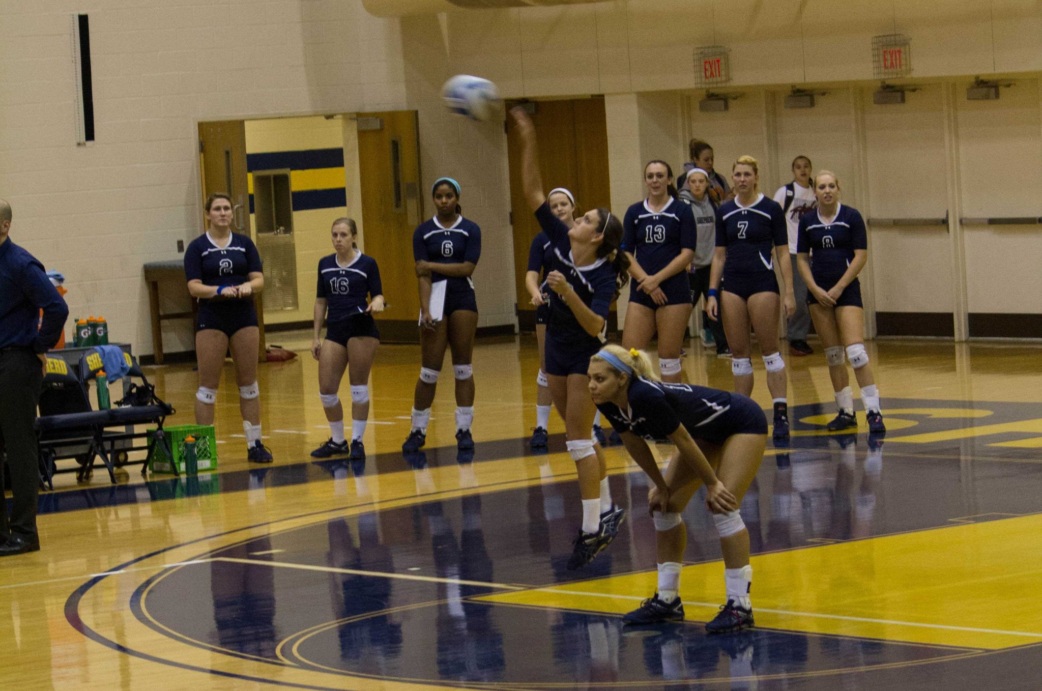 Volleyball Finishes Third in Mountain East Conference