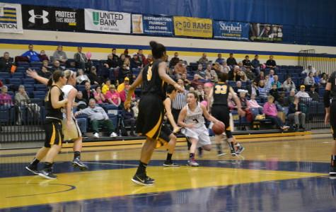 Lady Rams down Hilltoppers