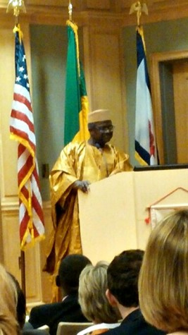 Malian Ambassador Tiena Coulibaly visits Shepherd University