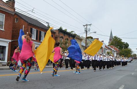 2015 Ram Band at the homecoming parade.