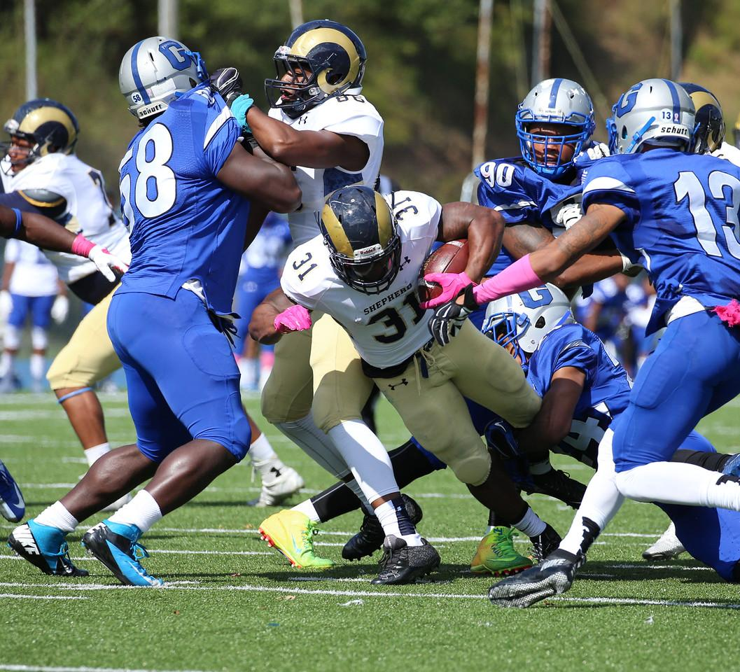 Rams Improve To 5 0 With Road Win Over Glenville State