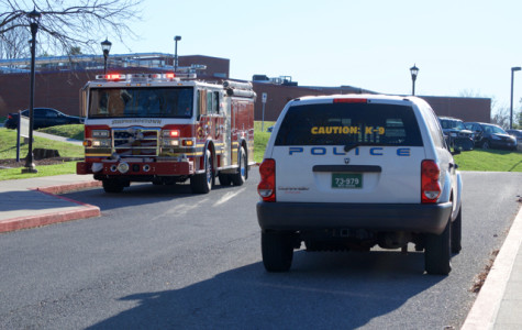 Student discharges fire extinguisher; No fire found