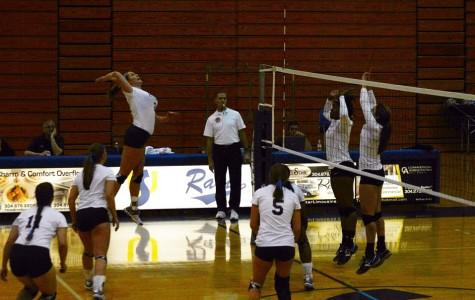 Rams volleyball team wins against UVA-Wise and Concord