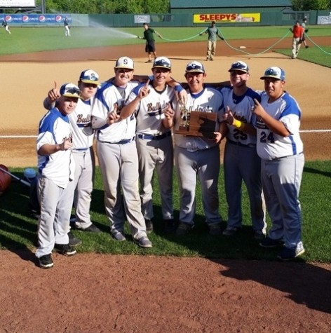Matt Crawford, who can be seen in the far right of this photo as #24 after winning the Maryland State Championship, played baseball and football for most of his life.