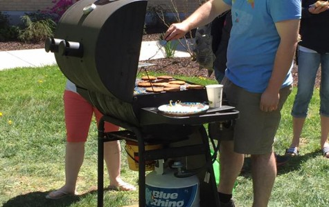 Shepherd Environmental Organization Holds Earth Day Cookout