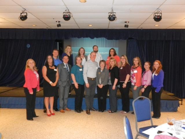 Shepherd's Accounting Club's annual Alumni Dinner