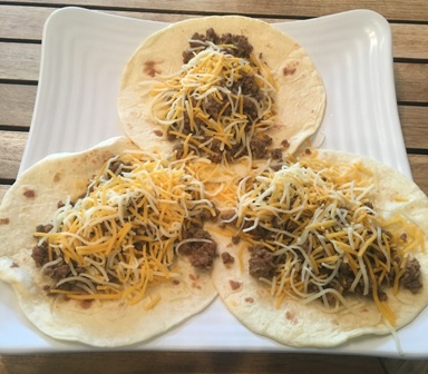 Maria's serves a great take on Mexican/SoCal style foods, including tacos.