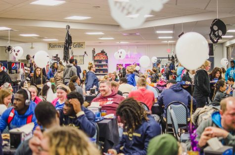 The Dining Hall hosted a Halloween dinner that welcomed a huge turn out of both students and families