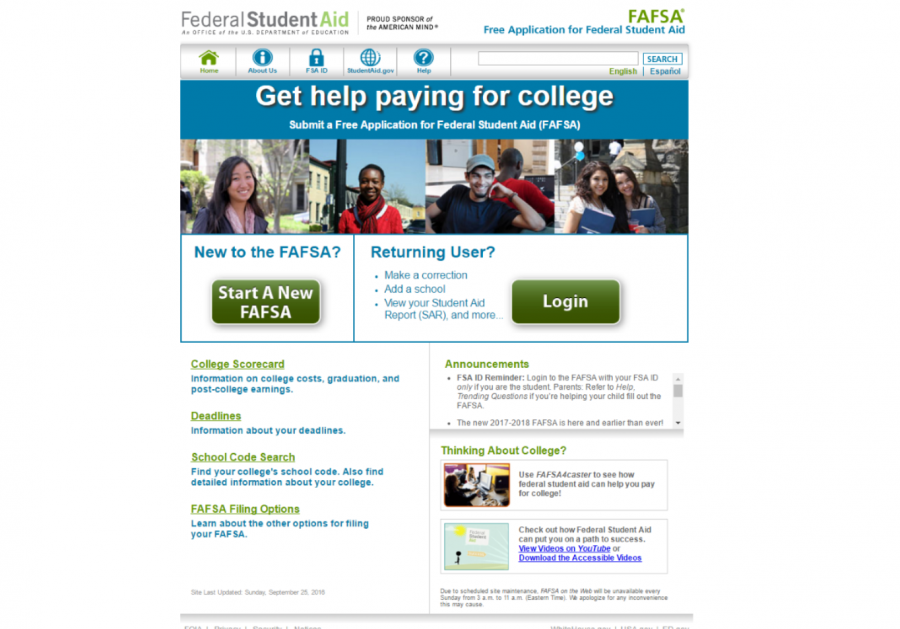 Changes made to 2017-18 FAFSA to benefit students