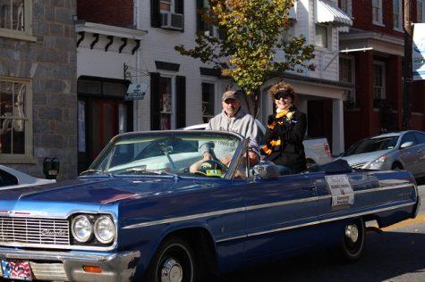 President Mary J.C. Hendrix and Shepherdstown Mayor Jim Auxer