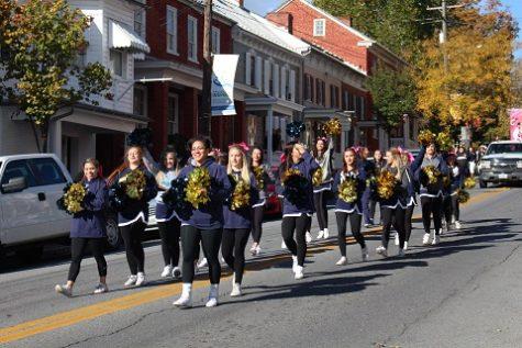 Shepherd University Cheerleading Team