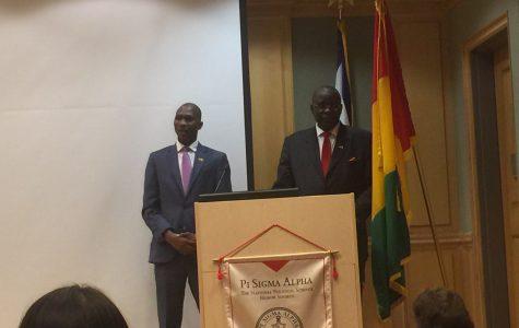 Ambassador Mamady Condé on Guinea