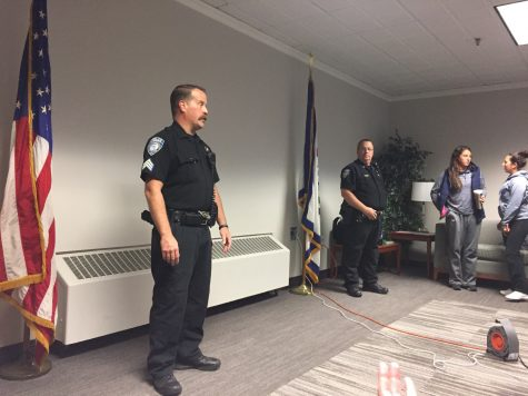 University Police Hold Active Shooter Training