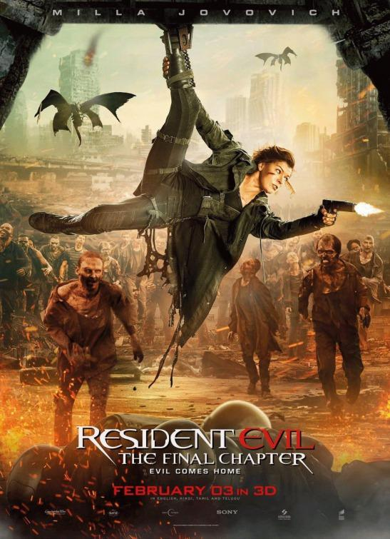 Picket or Flick-It: Resident Evil The Final Chapter | SUPicket