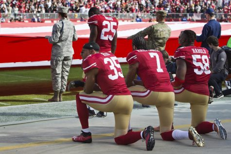 Trump says protests will hurt National Football League  business