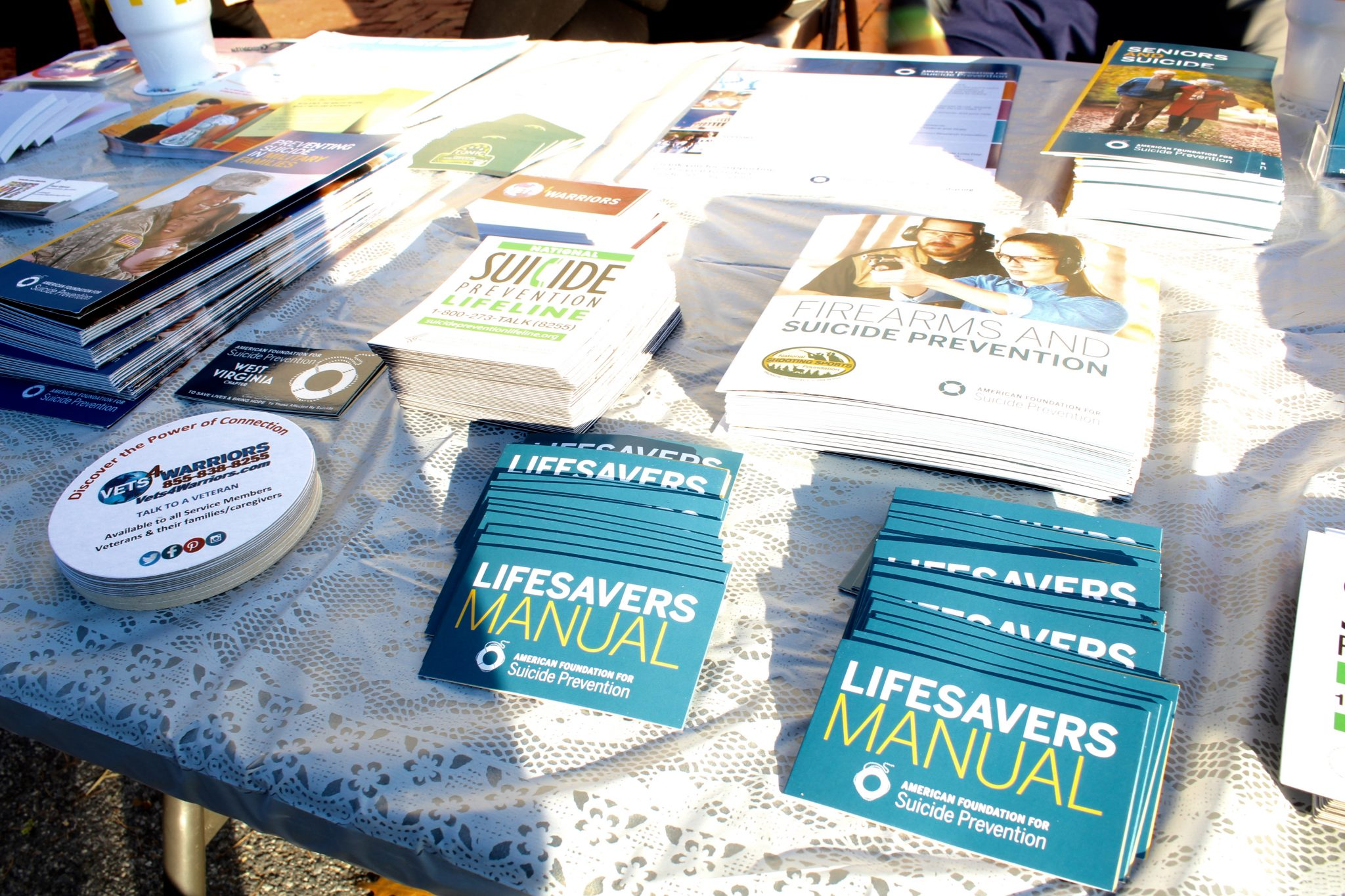 A closer look at some of the literature and the message of suicide prevention.