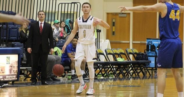Shepherd Men S Basketball Holds Off Notre Dame 107 90 In