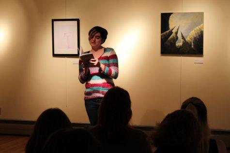 Rebecca Tidwell reads her poem
