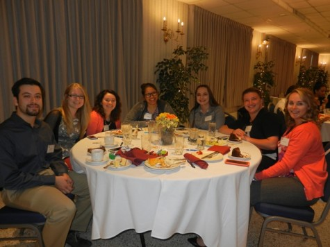 There were 40 attendees who attended the accounting club's annual Alumni Dinner on April 21.